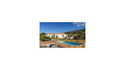 Photo for Villa Sol, house with all amenities, pool and sea views on La Palma