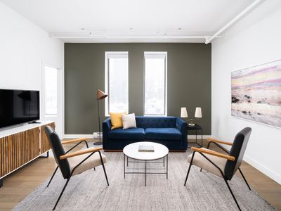 Photo for Sonder | Place d'Armes | Chic 1BR + Sleeper Sofa