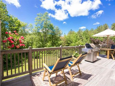 Photo for Luxury Mountain RD Townhome | Stowe Family Getaway