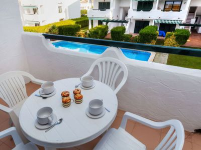 Photo for Mas Pinell Apartment, Sleeps 4 with Pool and Free WiFi