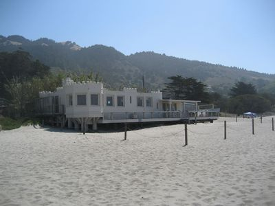 Photo for Ocean Front / Beach Front Castle House at Stinson Beach