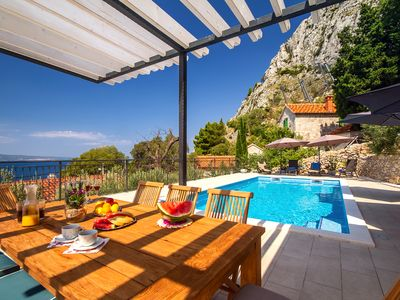 Photo for Brand new! VILLA B2B with heated private pool and amazing panoramic sea views!