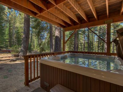 Photo for Spa, Pool Table, Log Furniture, Fireplaces, Grill +10mins to Heavenly/ Casinos/ Lake - The Monarch