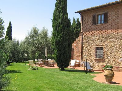 Photo for 1BR Apartment Vacation Rental in Montaione, Toscana