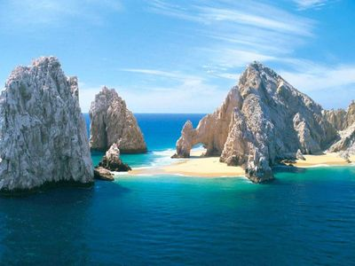 Photo for Xmas in Cabo 2BR/2BA luxe w/ private 6 person Hot Tub, Ocean/Mtn views, Sleeps 8