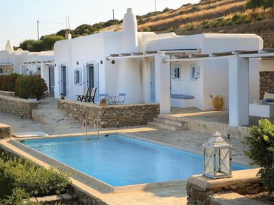 Photo for Beautiful villa with private pool and panoramic sea view of Golden Beach