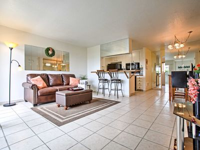 Photo for Oceanside Condo w/ Patio, Just Steps to the Beach!