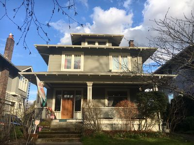 Photo for In Law Unit in Historic 1907 Ravenna Craftsman Home - 1/2 mile from UW Entrance!
