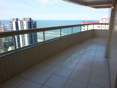 Photo for SEA VIEW! Near the beach, 2 beds, 2 slots, barbecue on the balcony!