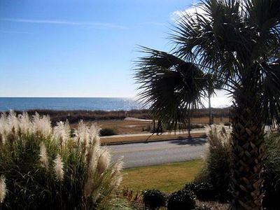 Cabana Section of Myrtle Beach Awesome ocean view from the front,exercise trail,pool,shower outside