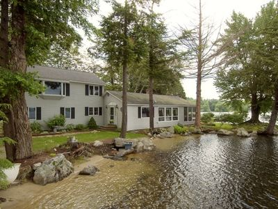Winnipesaukee Home with Guest Quarters and Stunning Views