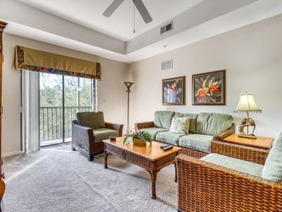 Photo for 1st floor condo w/ sauna, shared pools, limited-mobility access, patio, gym