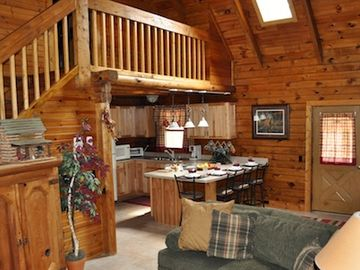 Home In The Woods... Nightly Rate For Double Occupancy $140.