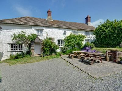 Photo for The Farmhouse, Morwenstow - Four Bedroom Cottage, Sleeps 8