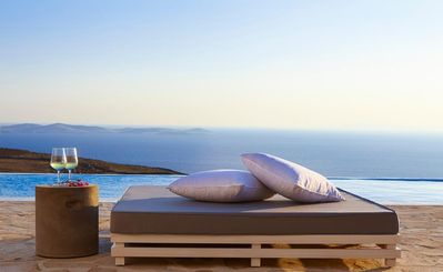 Photo for Combining luxury features and fittings with the relaxed Mykonos atmosphere, Villa Krystallo offers t