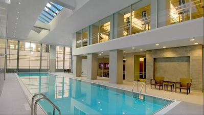 Photo for Make a splash in Stay Alfred's heated indoor pool