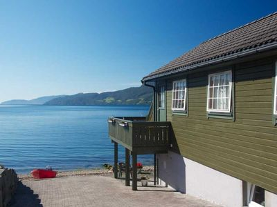 Photo for Right on the fjord with a fantastic view in Sandeid