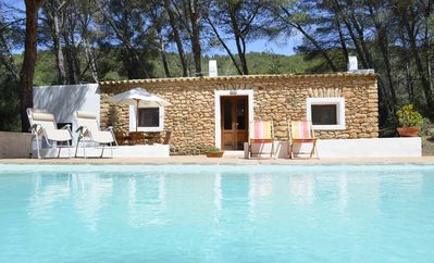 Photo for Cozy house with pool in a quiet area close to Santa Gertrudis village -ET-0573-E-