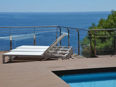 Photo for DUPLEX SEA WITH POOL / PENTHOUSE ON THE SEA WITH SWIMMING POOL - WIFI
