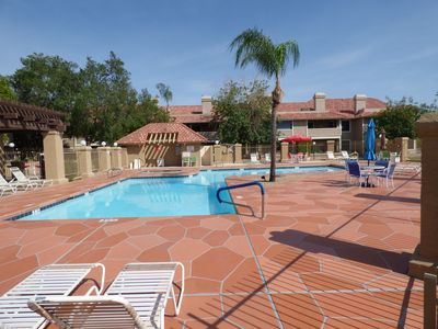 Photo for Alta Mesa condo with large heated pool