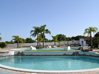 Photo for Villa Giorgia-Fabulous Villa with swimming pools, just 8 min. from Torre Guaceto