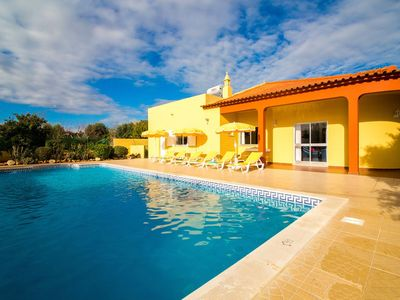 Photo for Beautiful Villa with Relaxing Atmosphere. 4 Bedrooms, 4 Bathrooms, Large & Fenced Pool 8-10 persons