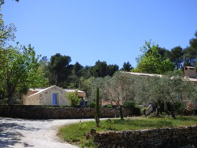 Photo for VILLA WITH SWIMMING POOL FACING MOUNTAIN STE VICTOIRE IN QUIET FOR FAMILY HOLIDAYS