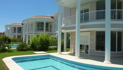 Photo for Antalya land of legends belek private villa 2 familie complex  private pool