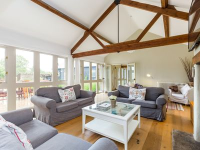 Photo for Traditional Cotswold Barn Conversion by the river