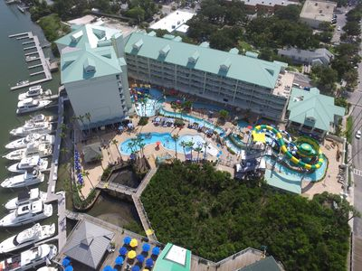 Photo for NEW WATERFRONT CONDO -SLEEPS 8 - 2/2- 4 FREE WATERPARK PASS - NO RESORT FEES!