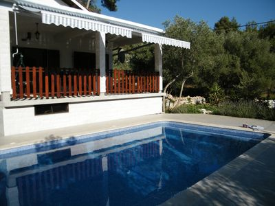 Photo for Holiday house with swiming pool in Gradina Vela Luka