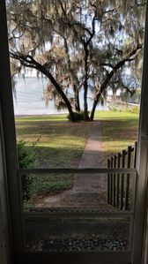 View from the porch.