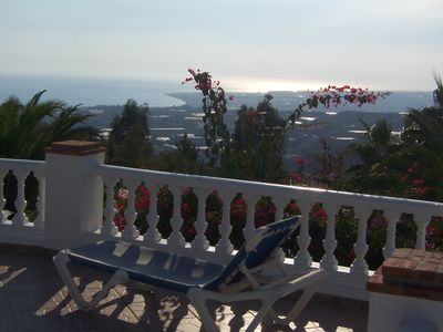 Photo for Large, luxury villa with private pool, sleeps 8, sea and mountain views