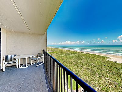 Photo for New Listing! Relaxed Coastal Charm w/ Pools, Private Balcony & Gulf Views