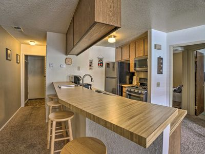 Photo for NEW! Big Bear Condo w/ Balcony - Walk to the Lake!