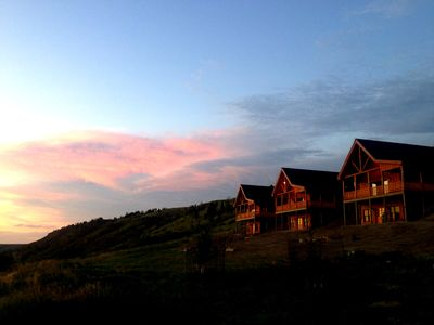Photo for Two Bedroom Cabin on Private Montana Ranch - Angler's Perch