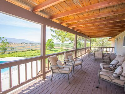 Photo for Walking Distance to Wineries, Peaceful & Relaxing Setting!
