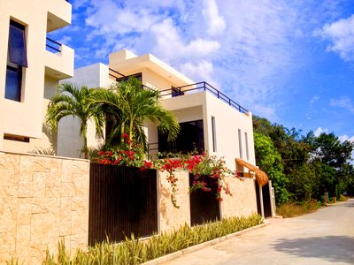 Photo for Luxury Home With Pool, Garden, 3 Bedroom in Tulum V2