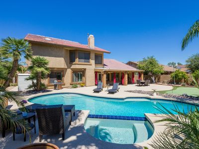 Photo for **Gorgeous Retreat in the Desert - Newly remodeled 4 BR Home with pool & hot tub