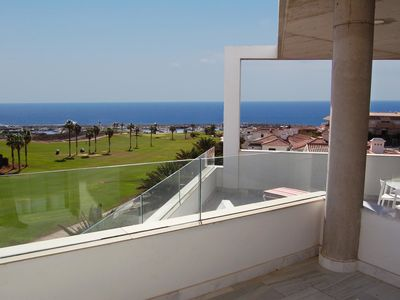 Photo for Amarilla Golf Villas - Unit 4 - luxury 4 bed penthouse with huge balcony and stunning views