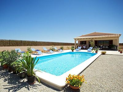Photo for 3 bedroom Villa, sleeps 6 in Campanet with Pool, Air Con and WiFi