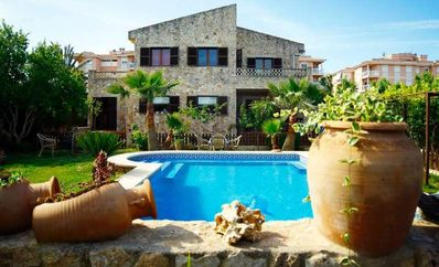 Photo for VILLA HERMOSA-  Stone house with pool in Las Palmeras, 4 bedrooms, BBQ. -74411- - Free Wifi