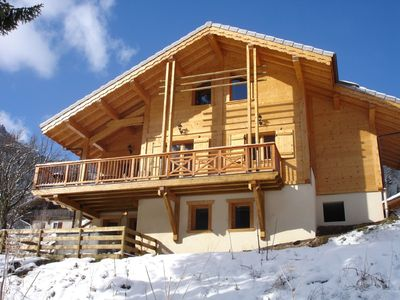 Photo for Brand new 5 bedroom ski chalet in Portes du Soleil, sleeps up to 12, Free Wifi
