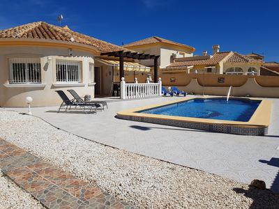 Photo for Fabulous detached villa with private pool - Close Proximity to La Zenia beaches