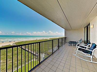 Balcony - Welcome to South Padre! This condo is professionally managed by TurnKey Vacation Rentals.