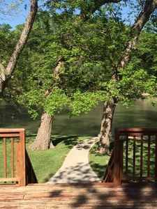 Photo for Guadalupe River Frontage @ Historic Gruene ~ Great home and awesome location.