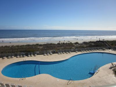 Photo for 1 BR/1BA Ocean Front overlooking pool