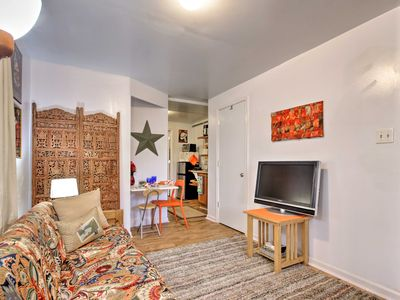 Photo for NEW! Cozy Garden-Level Apt - Walk to Charles Town!