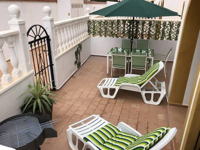 Photo for Large 2 Bedroom Apartment - Private Garden- 10 Min from La Zenia Beach/Boulevard