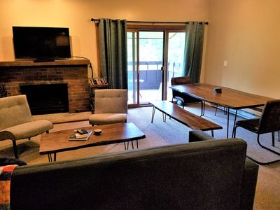Photo for Killington & Pico Condo With WiFi, Flat Panel TVs, Pool, & Tennis Court!